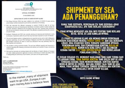 2 Faktor Utama Penundaan Tarikh Shipping by Sea