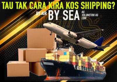 Anda Mahir Tak Mengira Kos Shipping?
